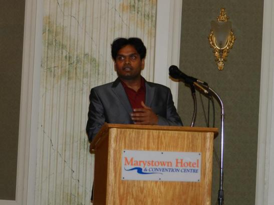 Dr Arjun Rayapudi speaks on the benefits of a plant-based diet